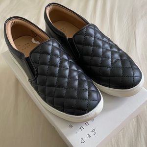 Faux Leather slip on shoes